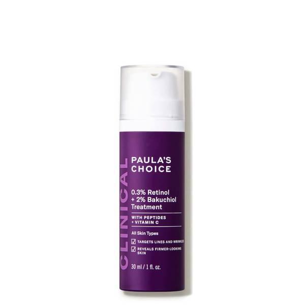 Paula's Choice CLINICAL 0.3 Retinol 2 Bakuchiol Treatment (1 fl. oz.)