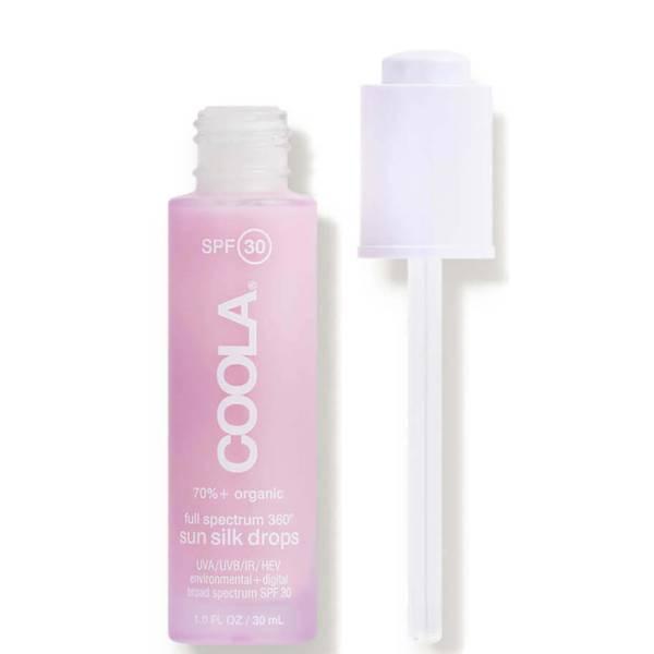 COOLA Full Spectrum 360° Sun Silk Drops Organic Face Sunscreen SPF 30 (1 oz.)
