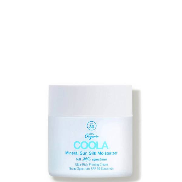 COOLA Full Spectrum 360° Mineral Sun Silk Moisturizer Organic Face Sunscreen SPF 30 (1.5 oz.)