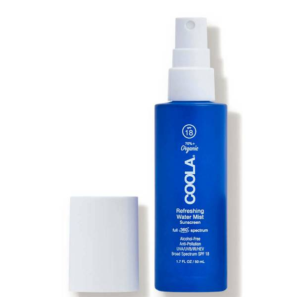 COOLA Full Spectrum 360 Refreshing Water Mist Organic Face Sunscreen SPF 18 (1.7 fl. oz.)
