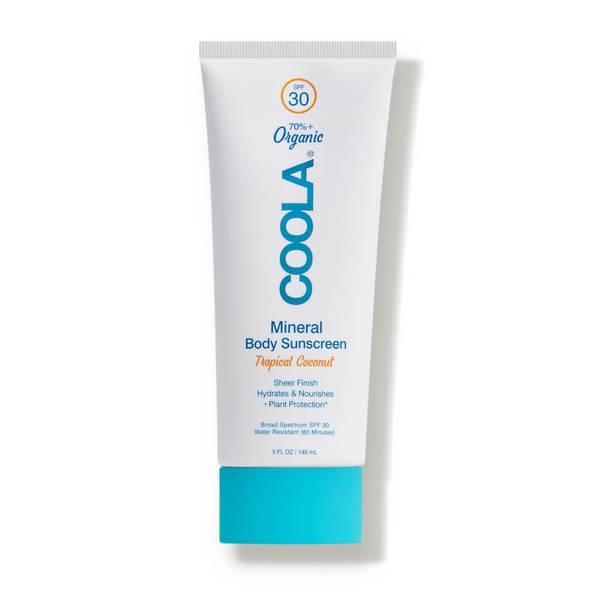COOLA Mineral Body Organic Sunscreen Lotion SPF 30 Tropical Coconut (5 fl. oz.)