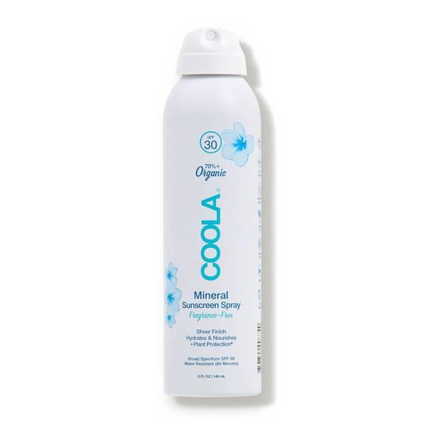 COOLA Mineral Body Organic Sunscreen Spray SPF 30 - Fragrance-Free (5 fl. oz.)