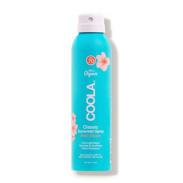 COOLA Classic Body Organic Sunscreen Spray SPF 70 - Peach Blossom (6 fl. oz.)