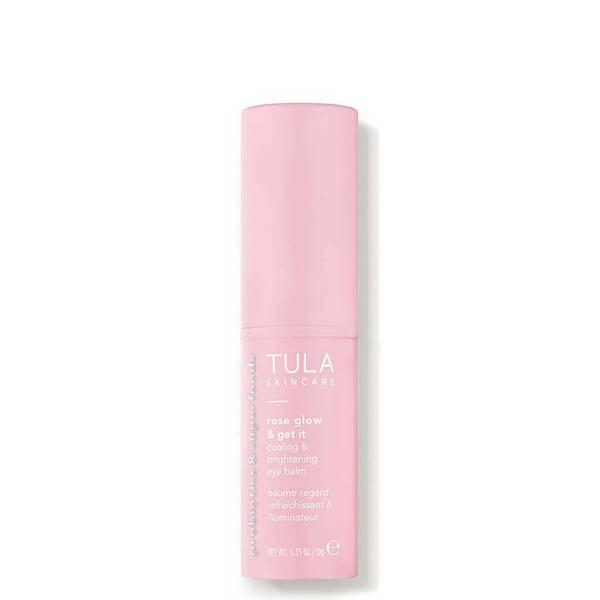 TULA Skincare Rose Glow Get It Cooling Brightening Eye Balm (0.35 oz.)