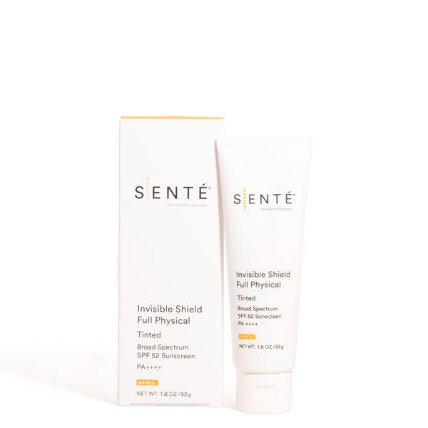 SENTÉ Invisible Shield Full Physical SPF 52 Tinted (1.8 oz.)