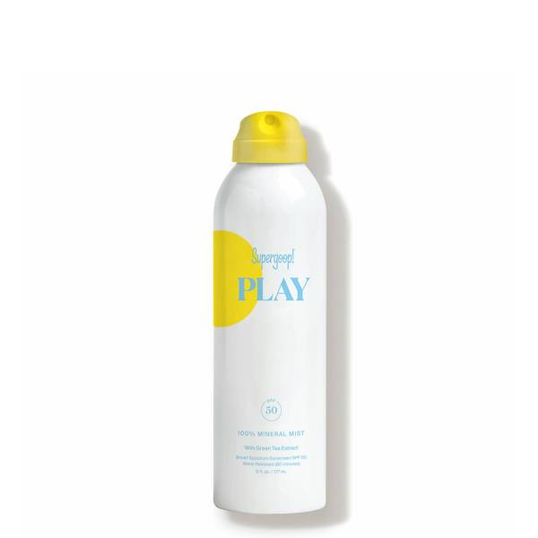 Supergoop!® PLAY 100 Mineral Body Mist SPF 50 with Green Tea 6 fl. oz.
