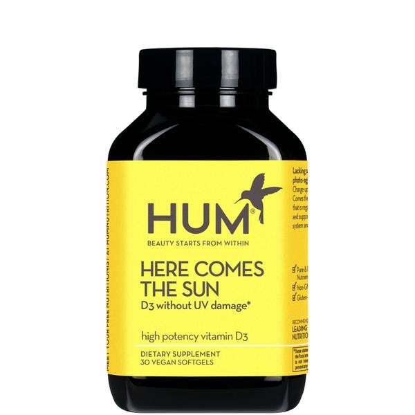 HUM Nutrition Here Comes the Sun 30 capsules