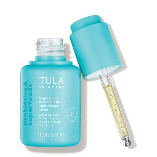 TULA Skincare Brightening Treatment Drops Triple Vitamin C Serum (1 fl. oz.)