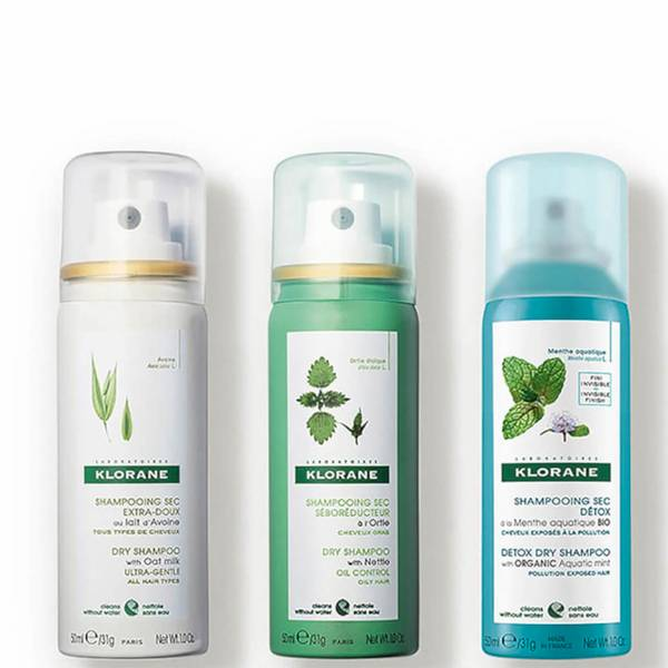 KLORANE Dry Shampoo Discovery Set (3 piece - $30 Value)
