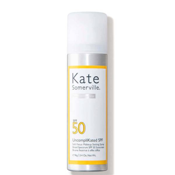Kate Somerville UncompliKated SPF Soft Focus Makeup Setting Spray Broad Spectrum SPF 50 Sunscreen (3.4 oz.)