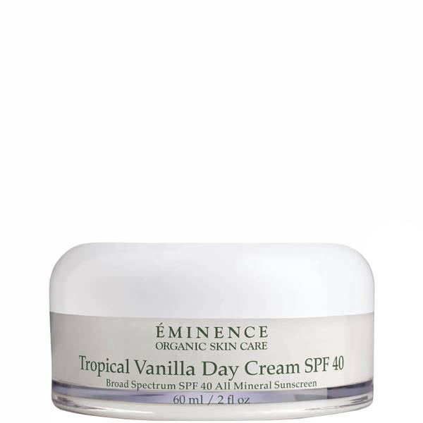 Eminence Organic Skin Care Tropical Vanilla Day Cream SPF40 2 fl. oz