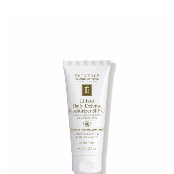 Eminence Organic Skin Care Lilikoi Daily Defense Moisturizer SPF 40 2 fl. oz