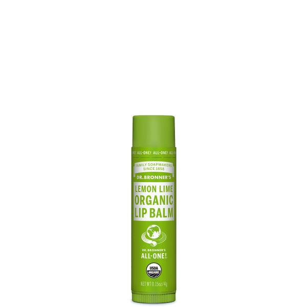 Dr. Bronner's Organic Organic Lip Balm - Lemon Lime 4g
