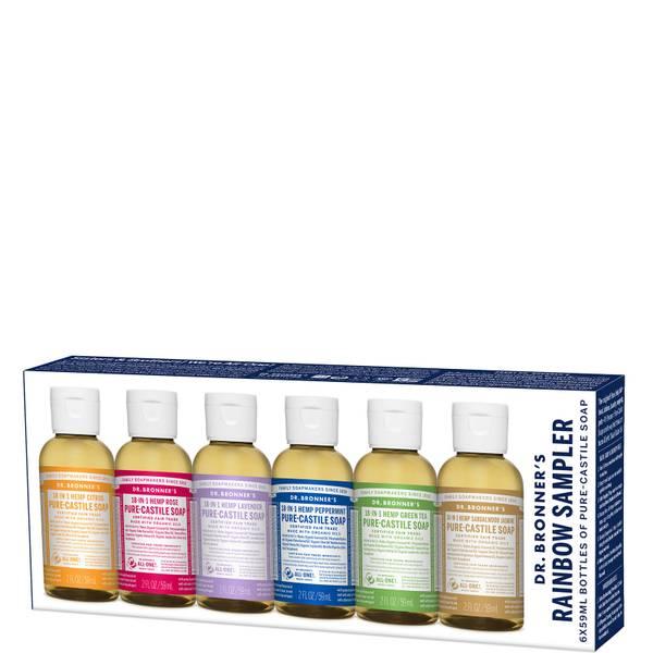 Dr. Bronner's Rainbow Sampler Pack (Worth $39.30)