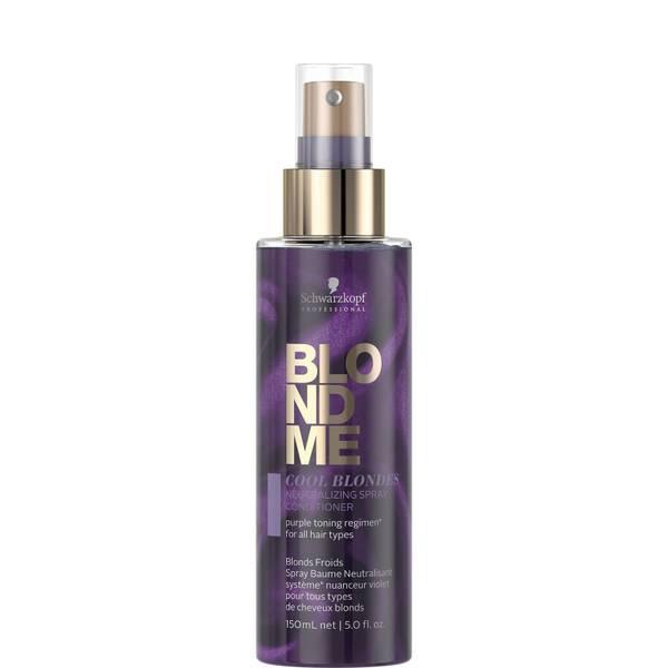 Schwarzkopf Blondme Neutralizing Spray Conditioner - Cool 150ml
