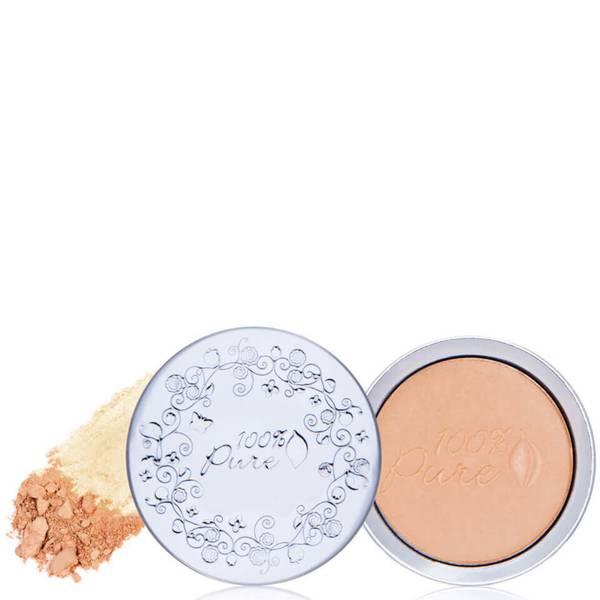 100 Pure Healthy Flawless Skin Foundation Powder SPF 20 (0.32 oz.)