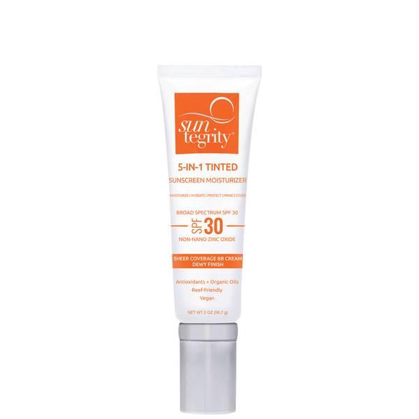 Suntegrity Skincare 5 in 1 Natural Moisturizing Face Sunscreen SPF 30 (1.7 oz.)