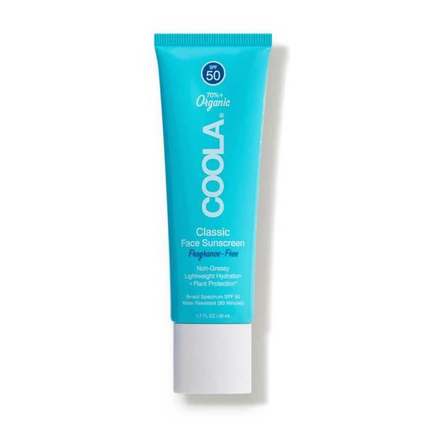 COOLA Classic Face Organic Sunscreen Lotion SPF 50 (1.7 fl. oz.)