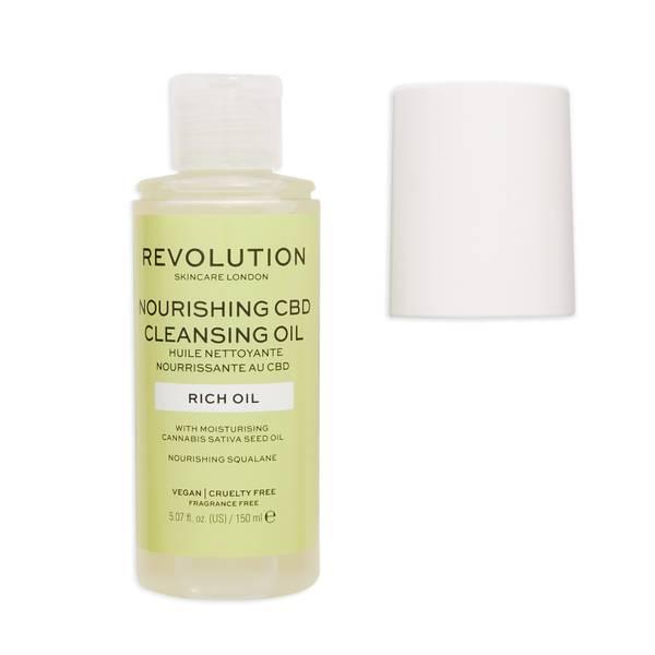 Revolution Skincare Nourishing CBD Cleansing Oil 150ml