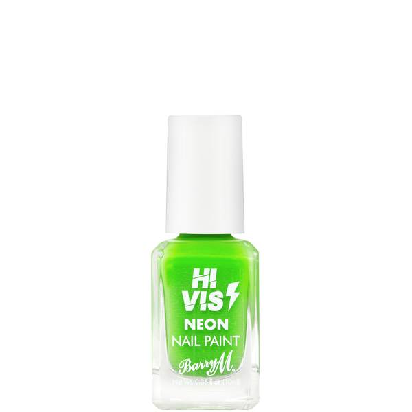 Barry M Cosmetics Hi Vis Nail Paint - Electric Lime 10ml