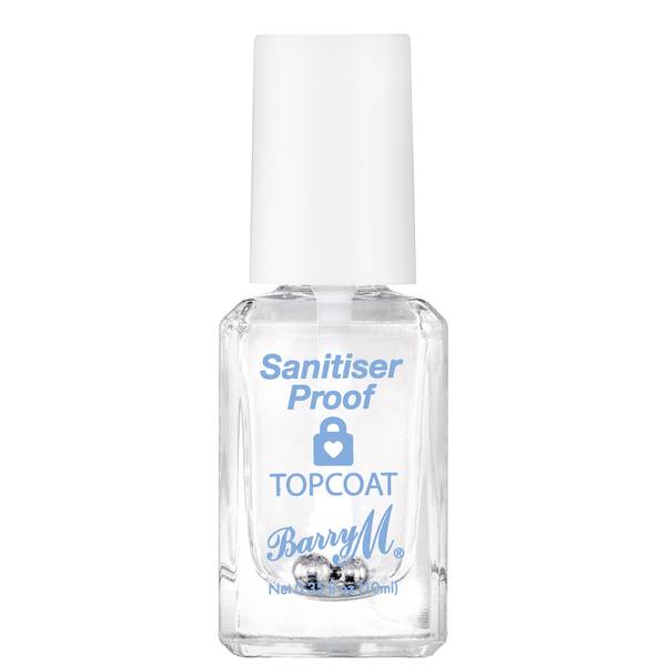 Barry M Cosmetics Santiser Proof Top Coat 10ml