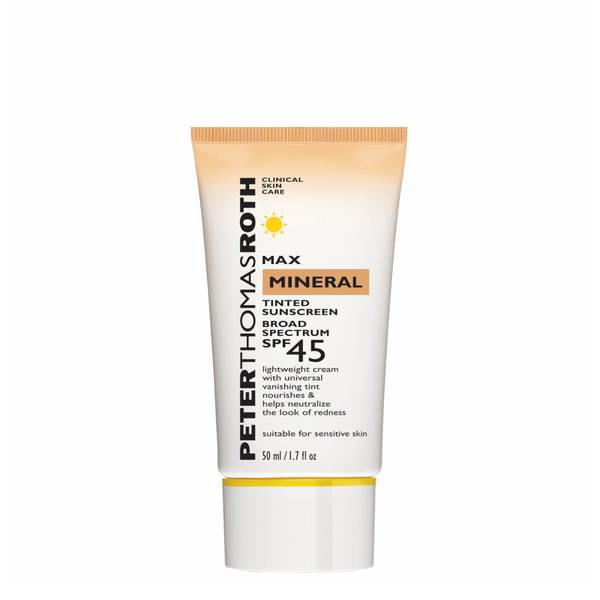Peter Thomas Roth Max Mineral Tinted Sunscreen Broad Spectrum SPF 45 UVAUVB Protective Lotion 1.7 fl. oz.