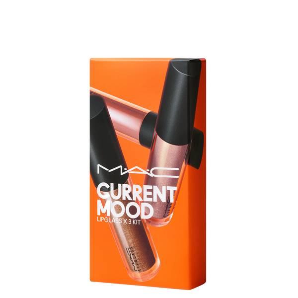 MAC Current Mood Lipglass Kit (Worth £49.50)