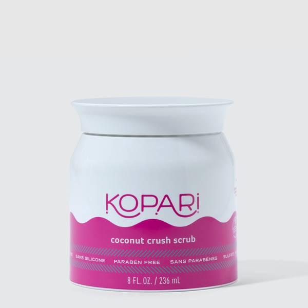 Exfoliating Crush Scrub with Brown Sugar and Fine Coconut Shells