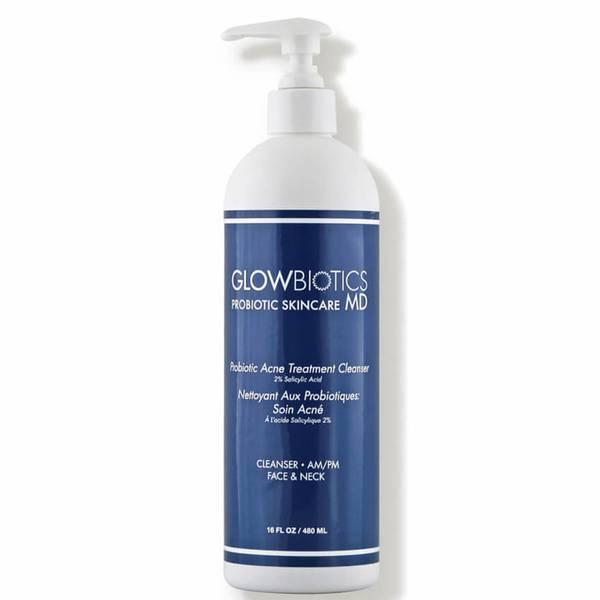 Glowbiotics MD Probiotic Acne Treatment Cleanser (16 oz.)