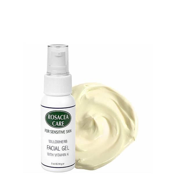 Rosacea Care Willowherb Facial Gel with Vitamin K (2 oz.)