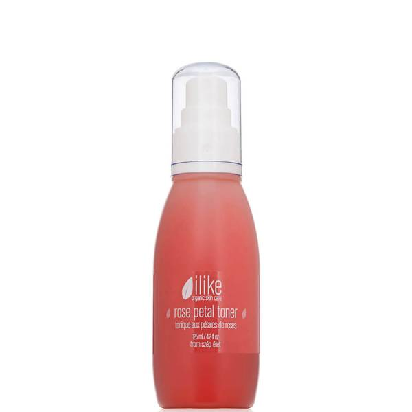 ilike organic skin care Rose Petal Toner (4.2 fl. oz.)