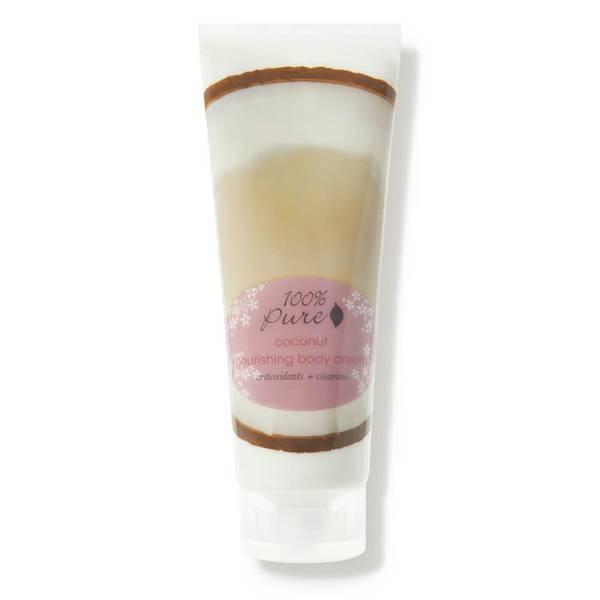 100% Pure Nourishing Body Cream - Coconut (8 oz.)
