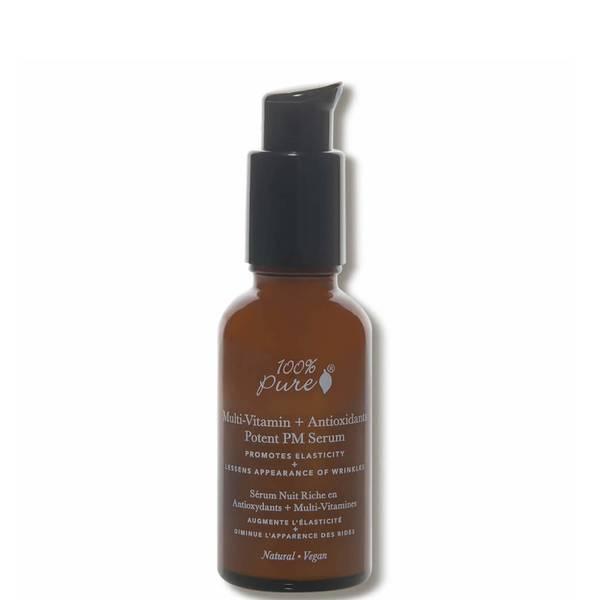 100% Pure Multi-Vitamin Antioxidants Potent PM Serum (1 fl. oz.)