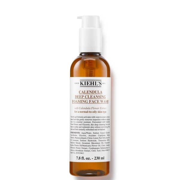 Kiehl's Calendula Deep Cleansing Foaming Face Wash (Various Sizes)