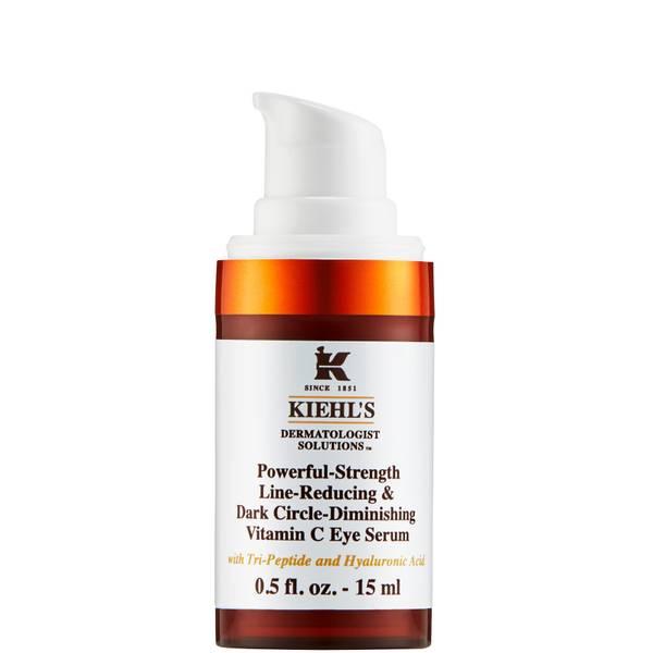 Kiehl's Powerful-Strength Line-Reducing and Dark Circle-Diminishing Vitamin C Eye Serum 15ml