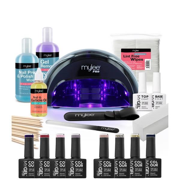 Mylee Full Works Complete Gel Polish Kit - Black