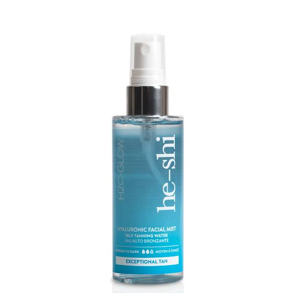 He-Shi H2O Glow Hyaluronic Tan Facial Mist 100ml