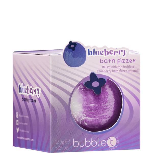 Bubble T Bath Fizzer - Blueberry 150ml