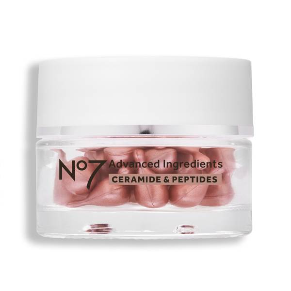 Advanced Ingredients Ceramide & Peptides 30 Facial Capsules