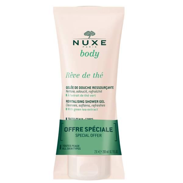 NUXE Body Rêve de thé Revitalising Shower Jelly Duo 2 x 200ml