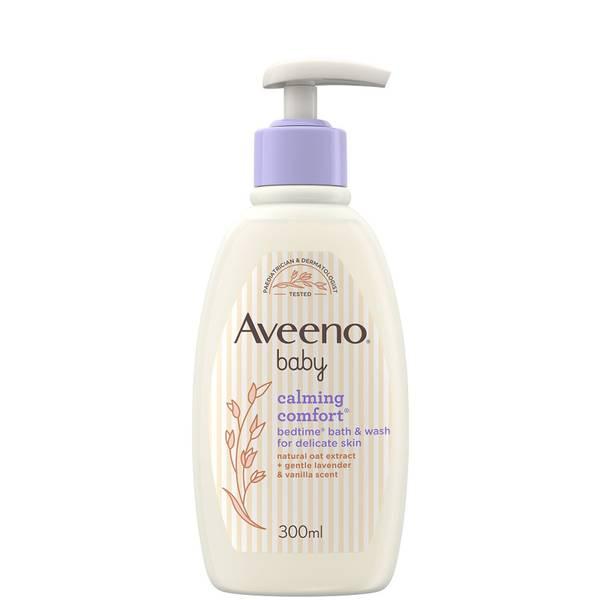 Aveeno Baby Calming Comfort Kąpiel na dobranoc i mycie 300ml