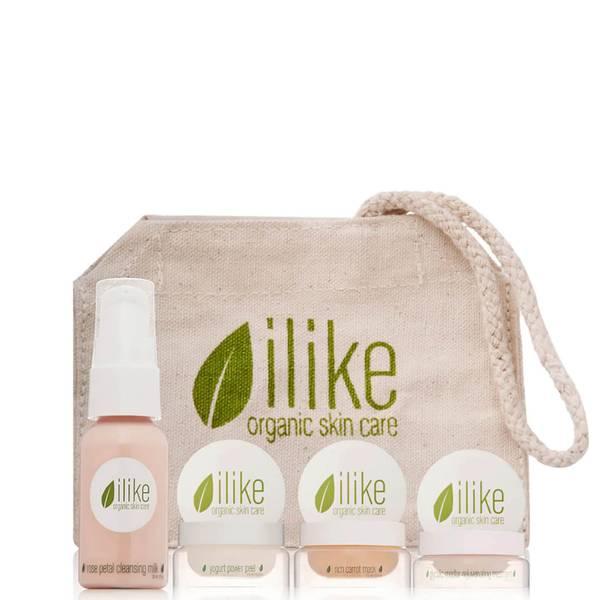 ilike Organic Skin Care Time Reverse Regime 4 piece