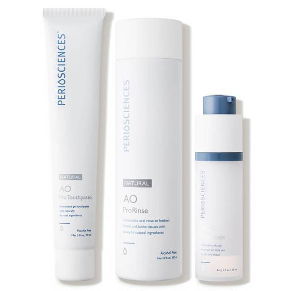 PerioSciences Antioxidant Oral Care System Without Stand - Natural 3 piece