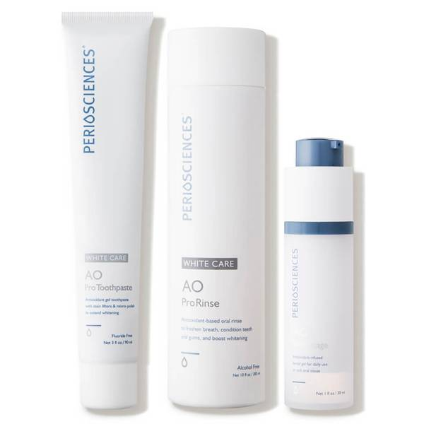 PerioSciences Antioxidant Oral Care System Without Stand - White Care 3 piece