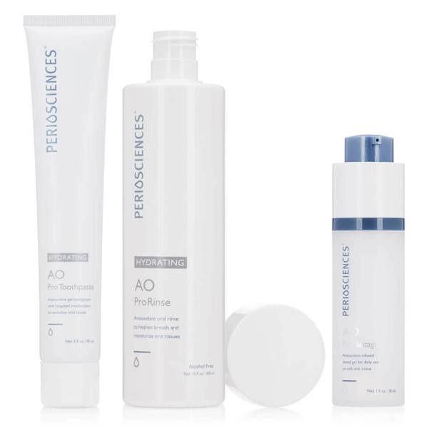 PerioSciences Antioxidant Oral Care System Hydrating 3 piece