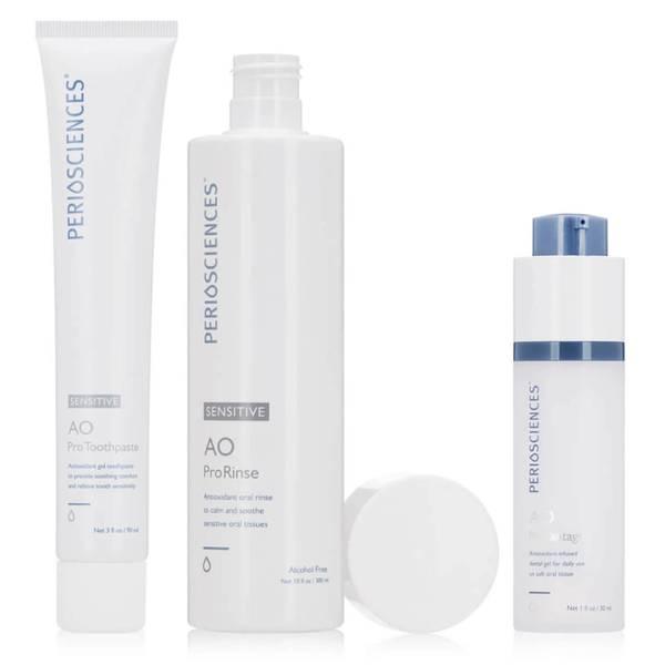 PerioSciences Antioxidant Oral Care System Sensitive 3 piece