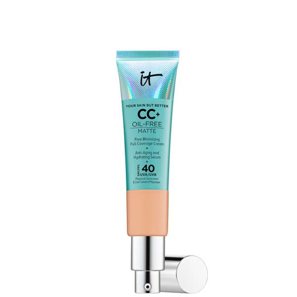 IT Cosmetics Your Skin But Better CC+ Oil-Free Matte SPF40 32ml (Various Shades)