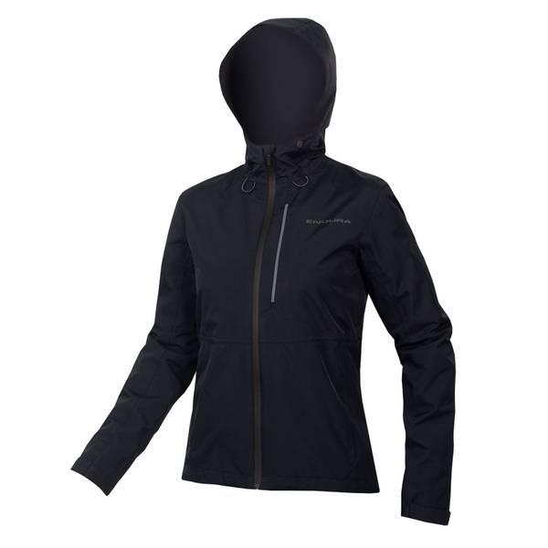 Womens Hummvee Waterproof Hooded Jacket - Black