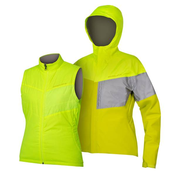 Women's Urban Luminite 3 in 1 Jacket II - Hi-Viz Yellow