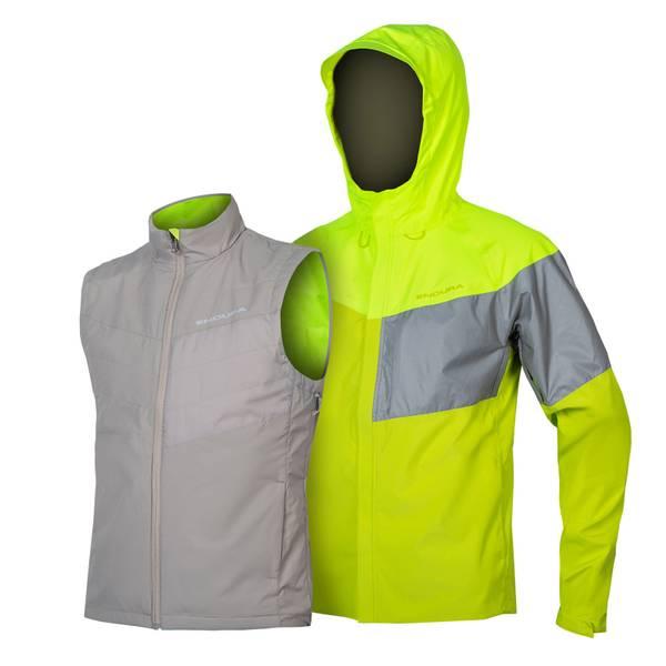 Urban Luminite 3 in 1 Jacket II - Hi-Viz Yellow